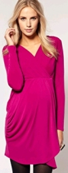 Asos Pink Maternity Dress